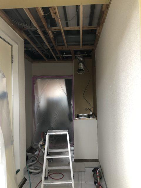 アパートの内装工事