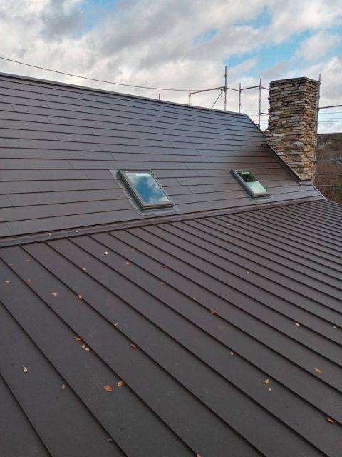 屋根のリフォーム完成です