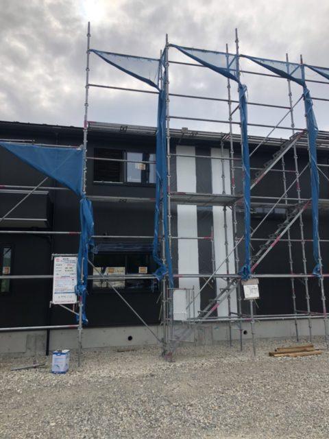 丹波市にて外壁塗装