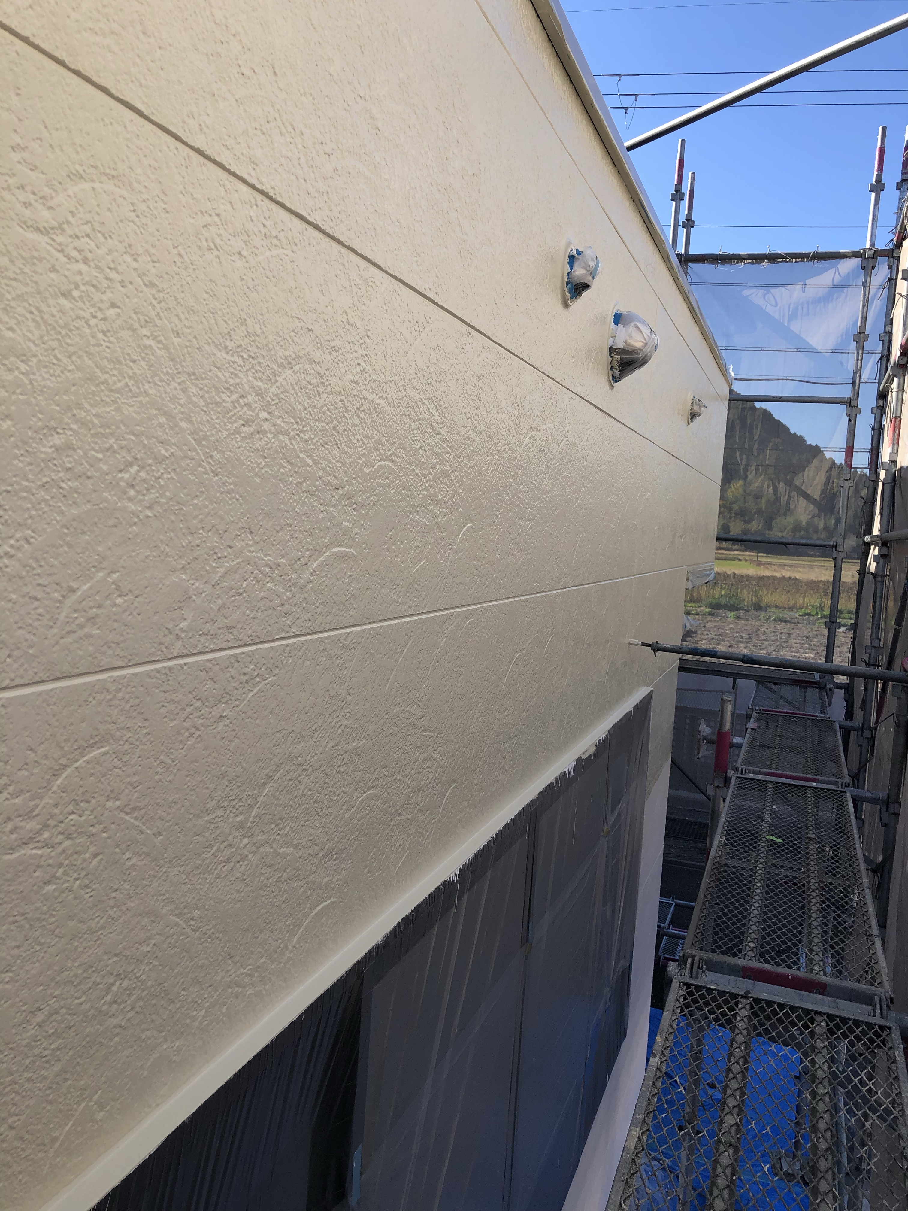 児童クラブの外壁塗装