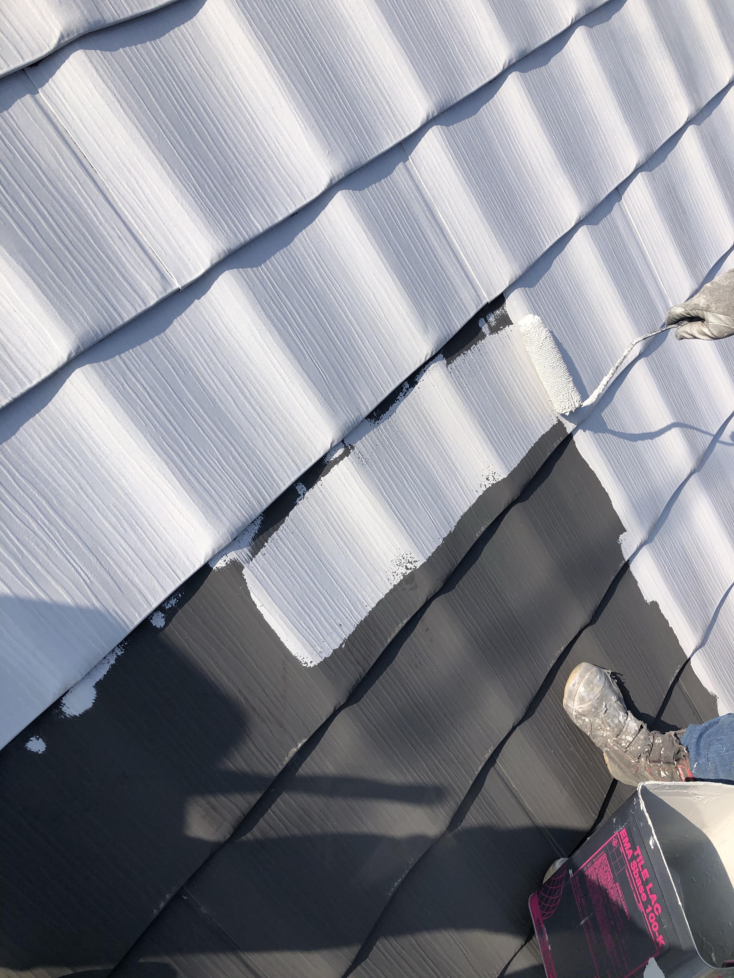 高槻市で屋根、外壁塗装